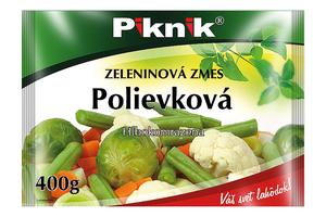 PIKNIK Polievková zeleninová zmes, 400 g