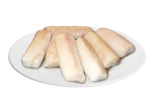 Treska škvrnitá - sviečková, loin (10%) 120-160g, 5kg GASTRO