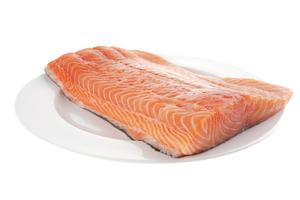 Losos filety s kožou (10%), 800-1400g, GASTRO (13+), 10kg