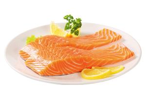 Losos porcie bez kože (10%), 120-160 g, IQF, GASTRO, 5kg