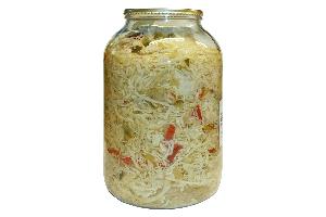 Senecký šalát - sterilizovaná čalamáda, 3,5 kg PP