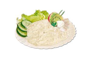 Treska v majonéze exkluzív (sáčok), 1kg