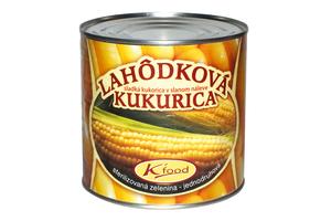 KUKURICA ZRNO V SLADKOM NÁLEVE, 2,15 kg