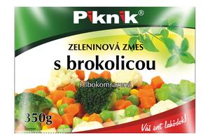 ZELENINOVÁ ZMES S BROKOLICOU, 350 g