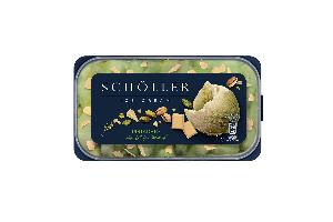 Scholler pistácia s bielou čokoládou, 1.0L