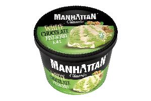 MANHATTAN White Chocolate & Pistachio 1.4L